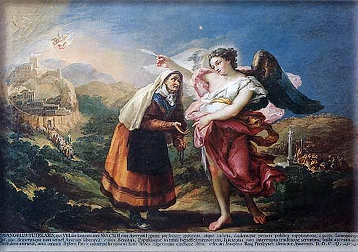 Romería del Santo Ángel en Ayora