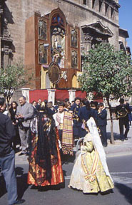 Feierlichkeiten Zu Ehren Von San Vicente Ferrer