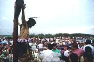 Fiestas en honor del Cristo de la Salud en Valencia