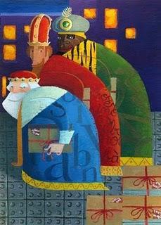 Cabalgata de los Reyes Magos en Albaida