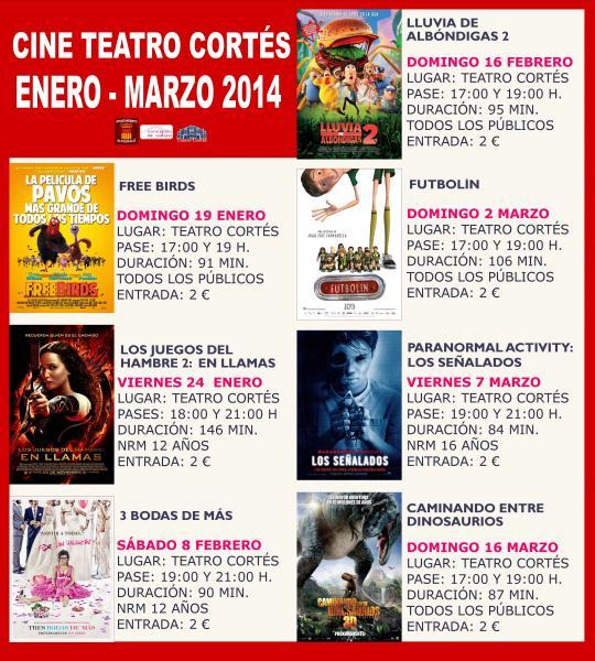 Cartelera de cine cinecom tattoo design bild - Cartelera de cine artesiete las terrazas ...