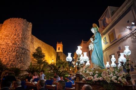 Festivity in honour of the Virgen de las Nieves