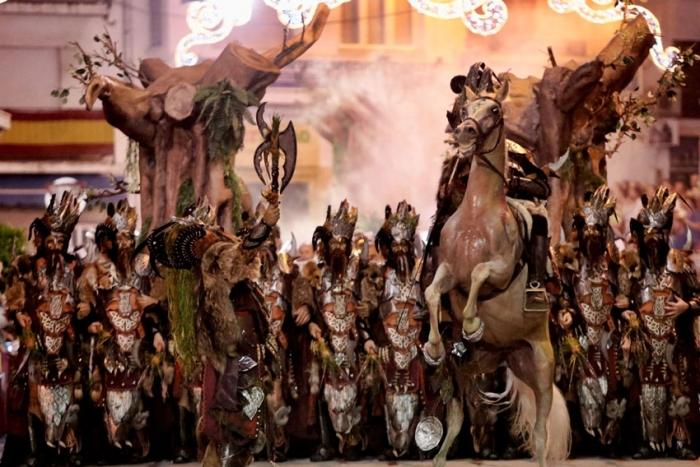 Moros y Cristianos Festivities in Honour of the Santísimo Cristo del Sagrario and San Blas