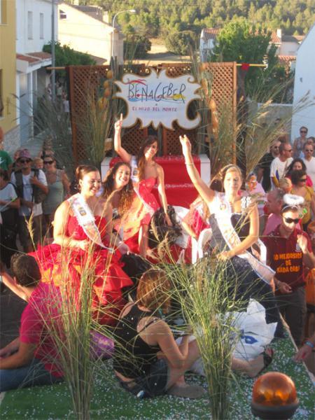 Fêtes Patronales en l'honneur à l'Ascention de la Vierge, San Roque et Santos de la Piedra