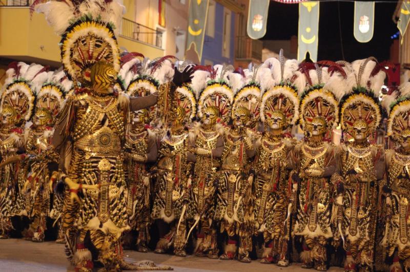 Festes de Moros i Cristians en Honor de Sant Vicent Ferrer