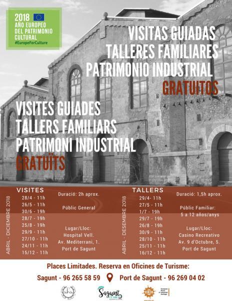 Ruta patrimonio industrial sagunto 2018 for Oficina turismo sagunto