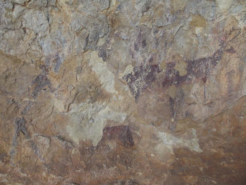Abrigo de Tortosilla Arte rupestre en Ayora