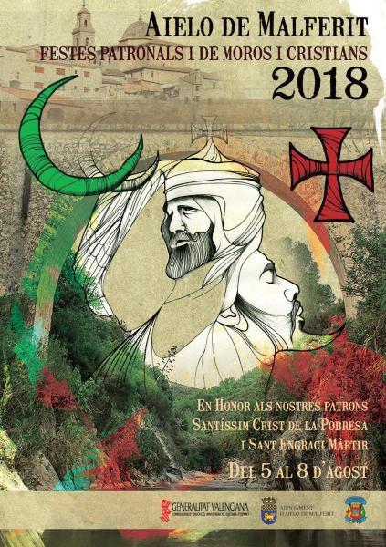 Fiestas Patronales Moros y Cristianos en honor al Santísimo Cristo de la Pobreza