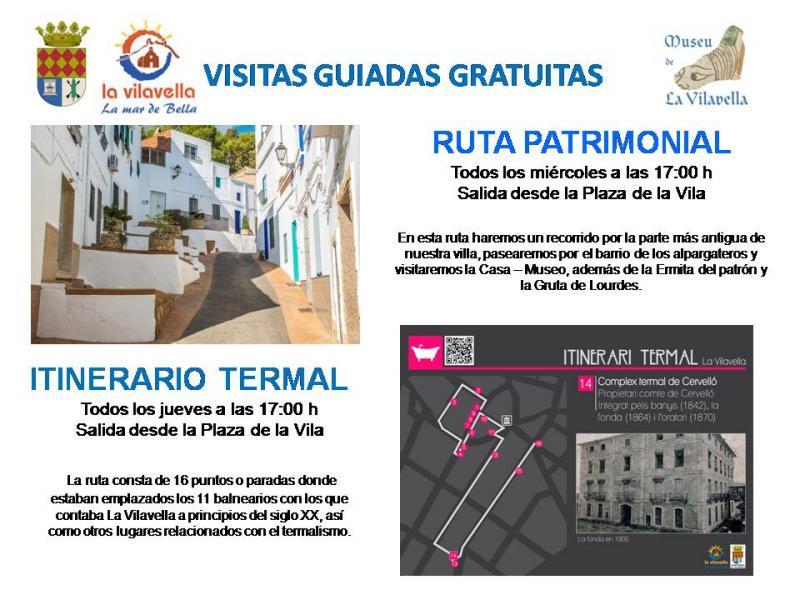 Visitas guiadas gratuitas en La Vilavella