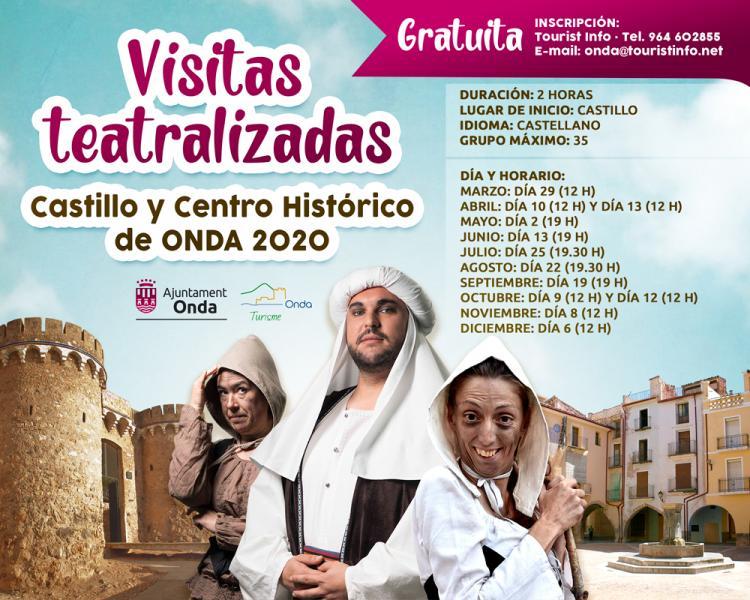 VISITAS TEATRALIZADAS DE ONDA 2020