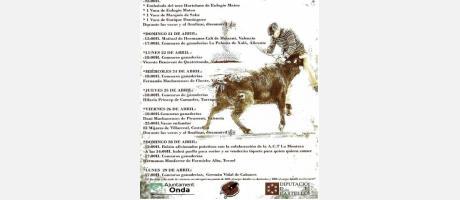 Cartel XXIV Pascua Taurina