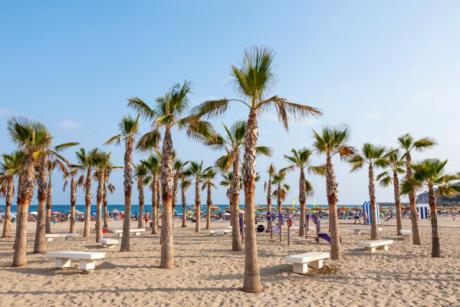 Charming beaches to go with children