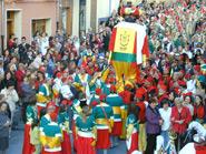 Moros y Cristianos en honor de la patrona Nuestra Señora de Gracia