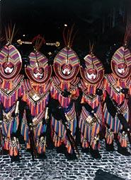 Moors and Christians Festivity in Oliva