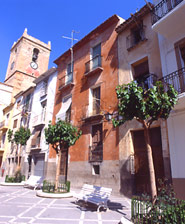 Historical-artistic old quarter of the city