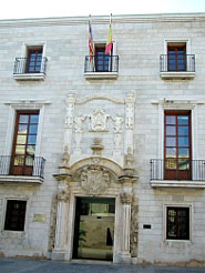 Public Library And The Fernando De Loaces Historical Archives