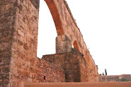 Gothic Aqueduct of the Cartuja de Portaceli
