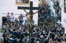 Holy week celebration
