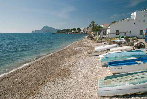 La Olla beach