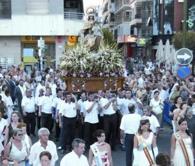FESTIVITIES IN HONOUR OF VIRGEN DEL CARMEN
