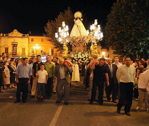 Fiestas patronales en honor a la Virgen del Castillo