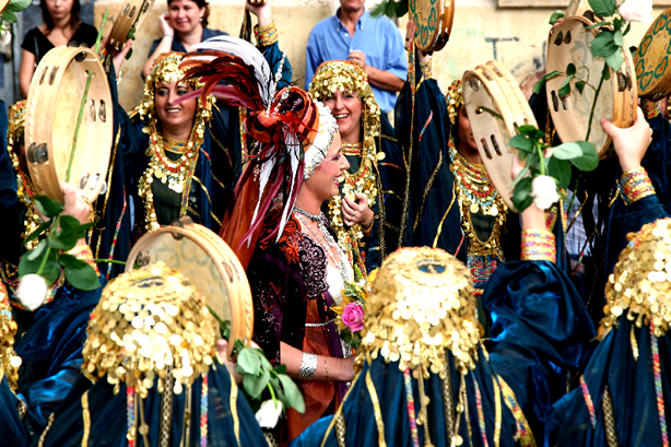 Fêtes de Moros y Cristianos en l'honneur de San Francisco de Asís