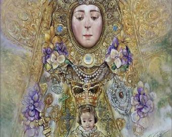 Romería en honor a la Virgen del Rocío