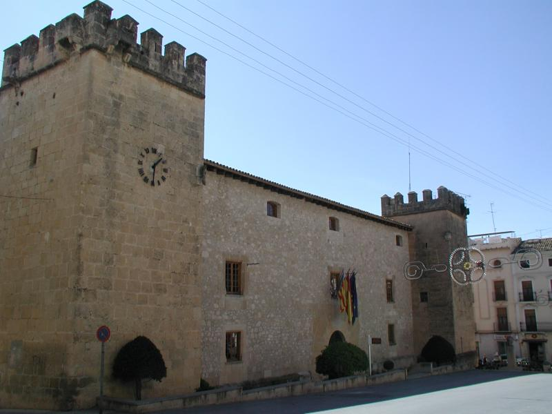 Palace-Fortress Of The Marquis Of Dos Aguas