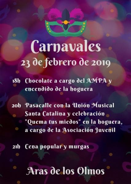 CARNAVALES ARAS DE LOS OLMOS 2019