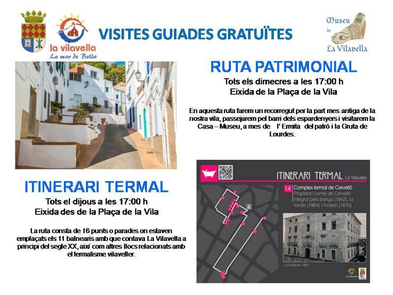 GUIDED TOURS: La Vilavella